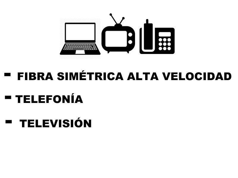 fibra + television